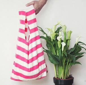 Shopper Bag Made From T-Shirt