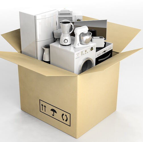Appliances In Donation Box