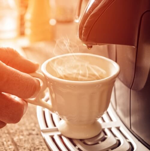 Coffee Machine And Cup