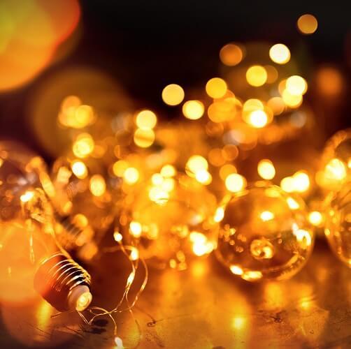 Fairy Lights Close Up