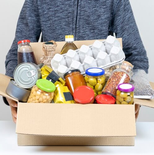 Box Of Food Recycling