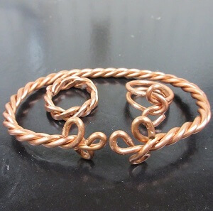 Jewellery Made From Cable Wire