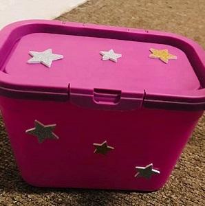 Laundry Tablets Box To Storage Box