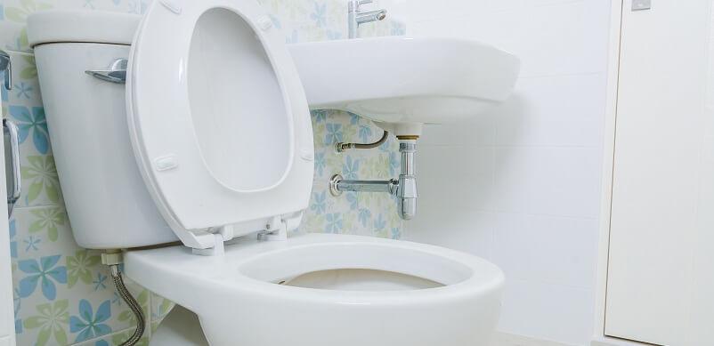 Bathroom Toilet And Sink