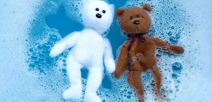 Teddy Bears in Water