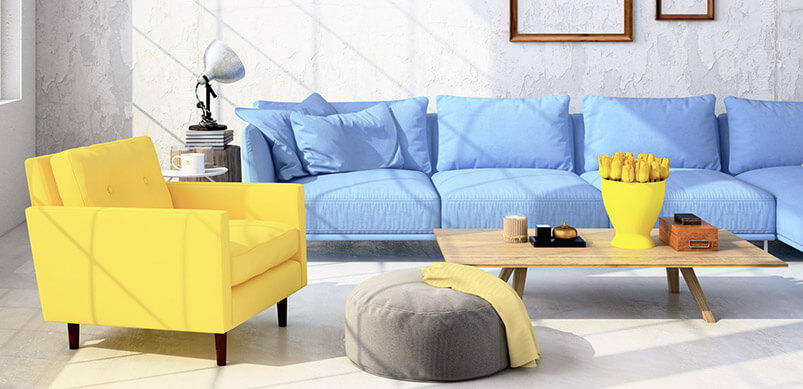 Organised Living Room