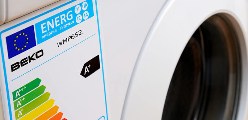 Washing Machine Energy Label