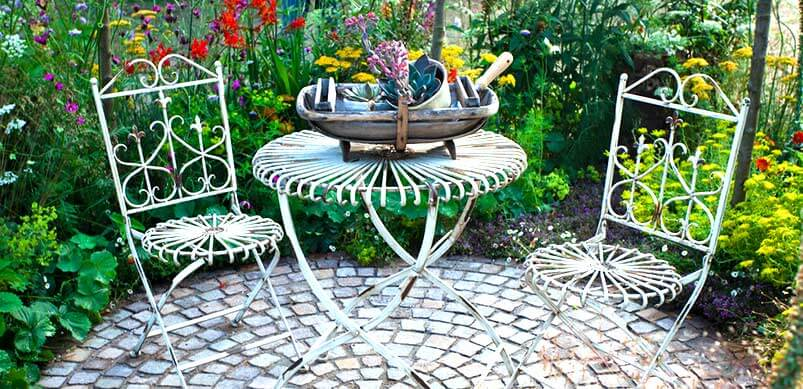 Rusty Garden Furniture