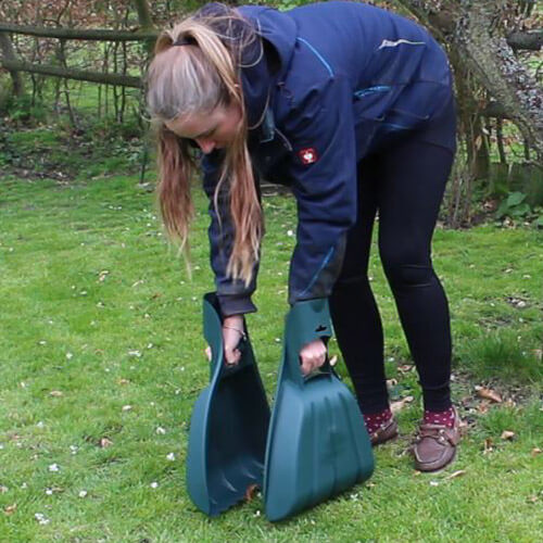 Amy Using Rolson Leaf Collectors