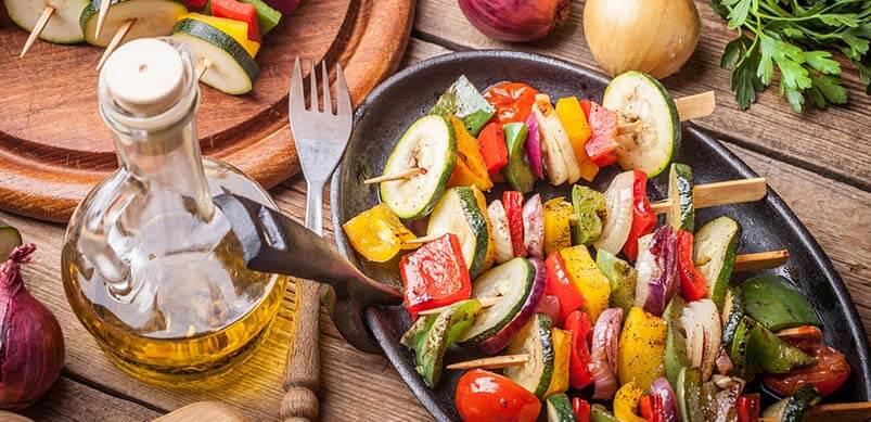 BBQ Veggie Foods