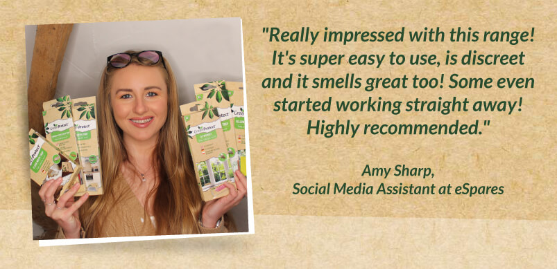 Green Protect Products And Amy Quote