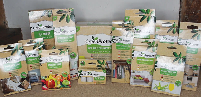 All Green Protect Products On Display