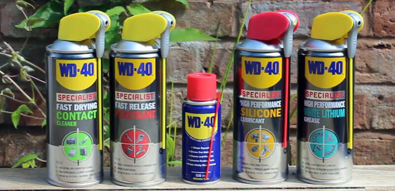 Full Range Of WD-40 products
