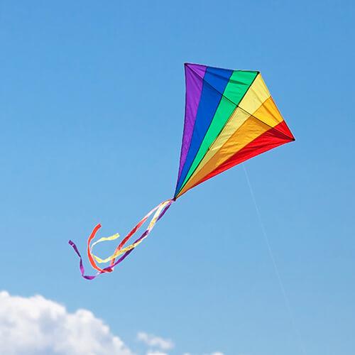 Kite Flying In Sky