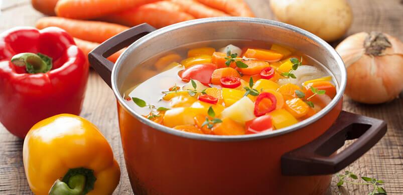 Full Cooking Pot