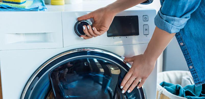 Hand Turning Washer On