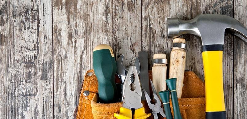 Fixing Tools In Tools Belt