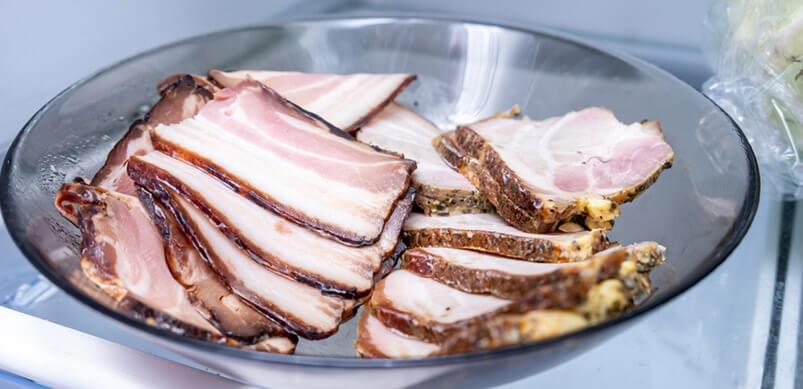 Meat in Fridge