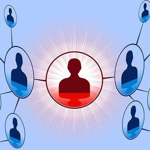 Online Network Of People