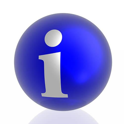 Blue Information Icon