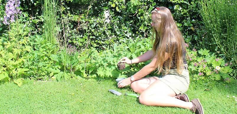 Amy Pruning Garden Plants