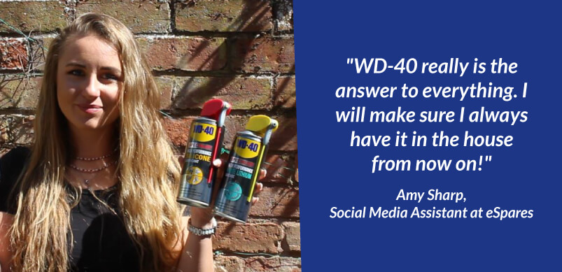 WD-40 Tried and Tested Banner