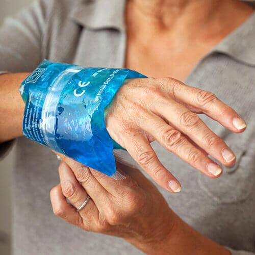 Ice on Wrist