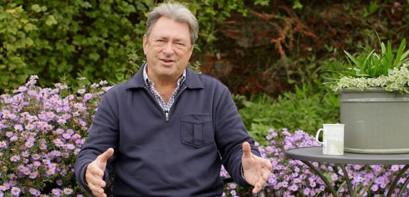 Alan Titchmarsh In Garden