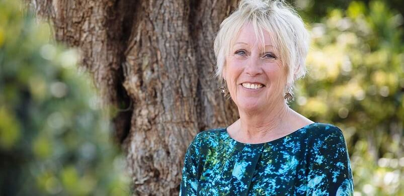 Carol Klein In Garden
