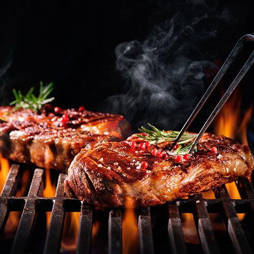 Barbecue In Garden