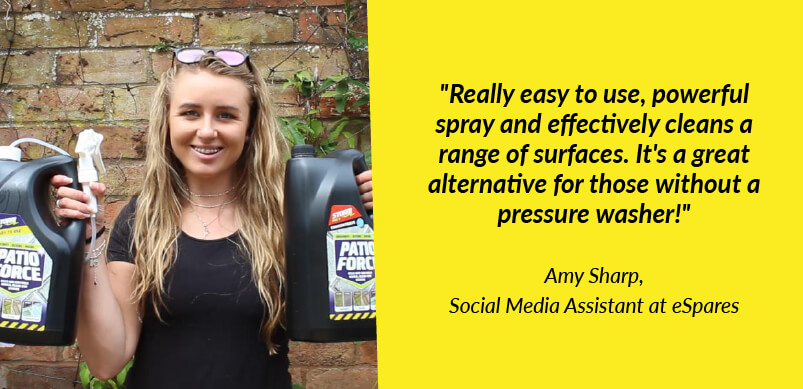 Amy With Patio Force And Quote