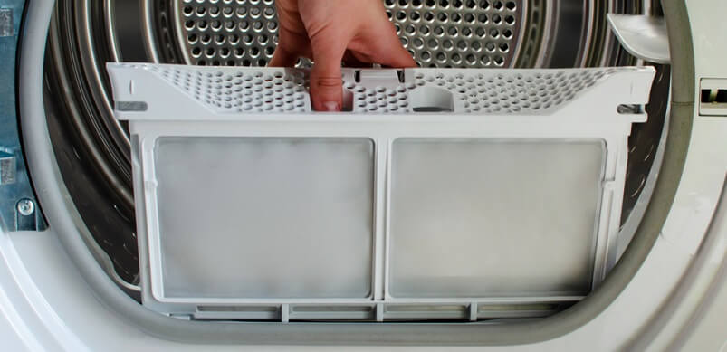 Tumble Dryer Filter Getting Replaced
